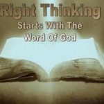 Thinking God's Thoughts